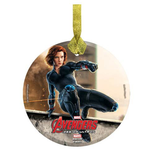 Avengers: Age of Ultron Black Widow StarFire Prints Hanging Glass Print