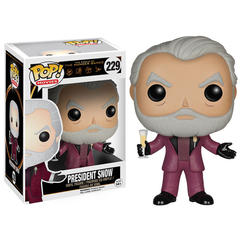 The Hunger Games President Snow Pop! Vinyl Figure