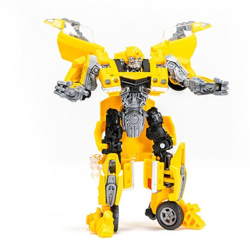 Transformers Studio Series Deluxe Class Rebekah's Garage Bumblebee with Charlie Figure - Exclusive