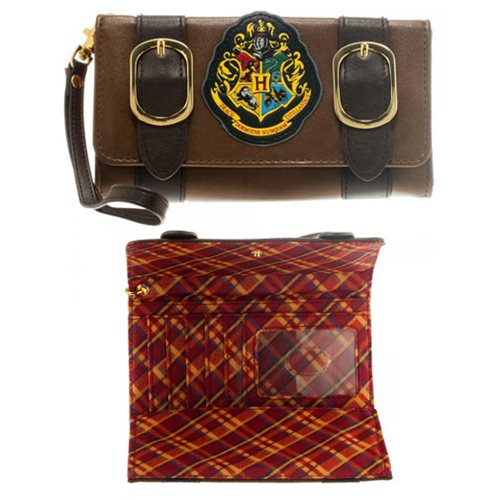 Harry Potter Hogwart Satchel Fold Wallet