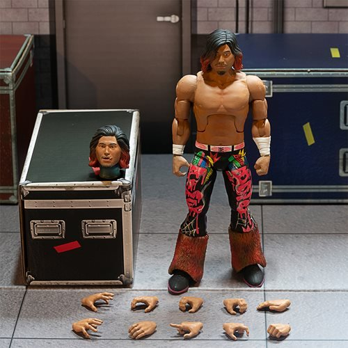 New Japan Pro-Wrestling Ultimates Hiromu Takahashi 7-Inch Action Figure