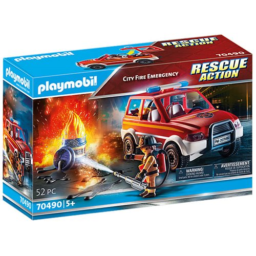 Playmobil 70490 Rescue Action City Fire Emergency