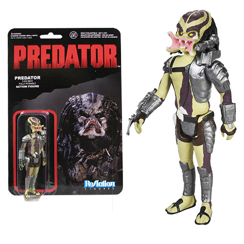 Predator Open Mouth Predator ReAction 3 3/4-Inch Retro Action Figure
