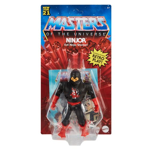 Masters of the Universe Origins Action Figure Wave 4 Case