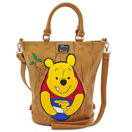 Winnie the Pooh Front and Back Tote Purse
