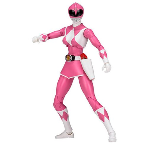 Mighty Morphin Power Rangers Legacy Pink Ranger Action Figure