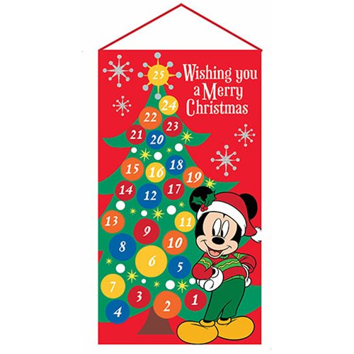 Mickey Mouse 19-Inch Fabric Advent Calendar
