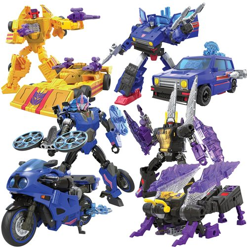 Transformers Generations Legacy Deluxe Wave 1 Set of 4