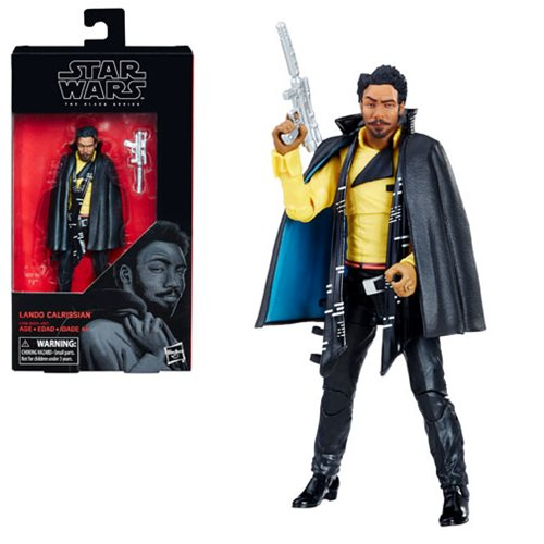 Star Wars The Black Series Lando Calrissian (Solo) 6-Inch Action Figure