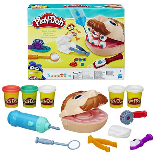 Play-Doh Doctor Drill n Fill Set, Not Mint