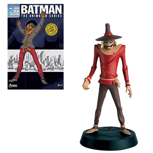Batman The Animated Series Scarecrow Figure with Collector Magazine Series 2 #2
