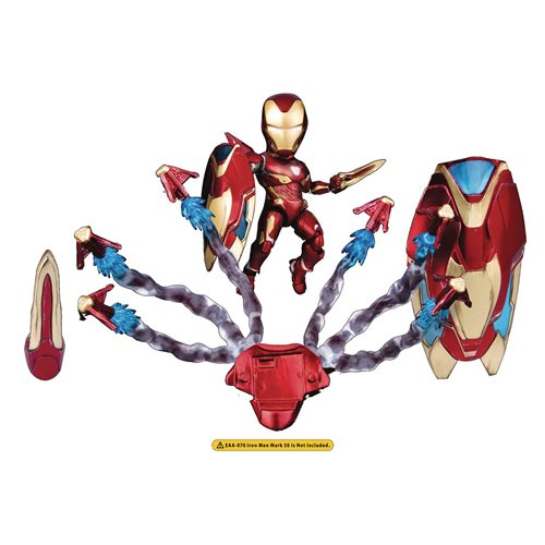 Avengers: Infinity War Iron Man MK50 EAA-070AC Weapon Accessory Set