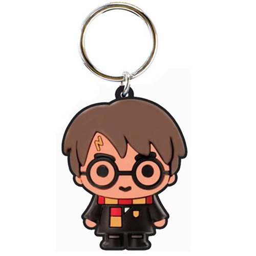 Harry Potter Soft Touch PVC Key Chain
