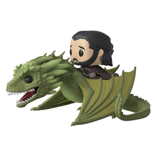 Game of Thrones Rhaegal Pop! Vinyl Ridez with Jon Snow Figure