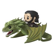 Game of Thrones Rhaegal Pop! Vinyl Ridez with Jon Snow Figure, Not Mint