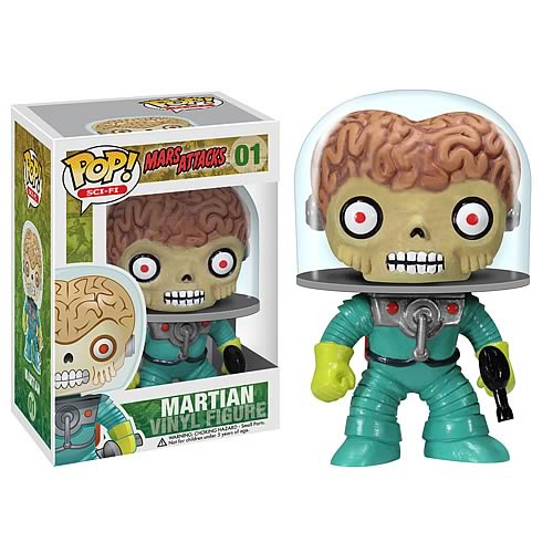 Mars Attacks! Martian Pop Vinyl Figure