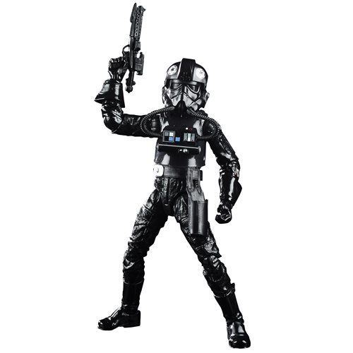 Star Wars The Black Series Empire Strikes Back 40th Anniversary 6-Inch TIE Fighter Pilot Action Figure