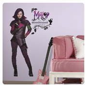 Descendants Mal Peel and Stick Giant Wall Decal
