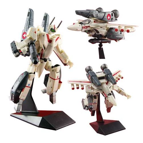 Robotech Rick Hunter's 1:100 Scale VF-1J Super Veritech Action Figure