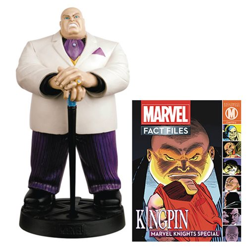 Marvel Fact Files Special #19 Kingpin Statue with Collector Magazine