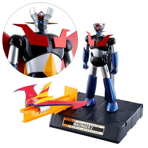 Mazinger Z GX-70 Dynamic Classic Soul of Chogokin Die-Cast Metal Action Figure