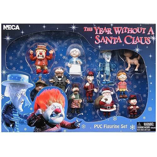 Year Without A Santa Claus Pvc Mini Figures