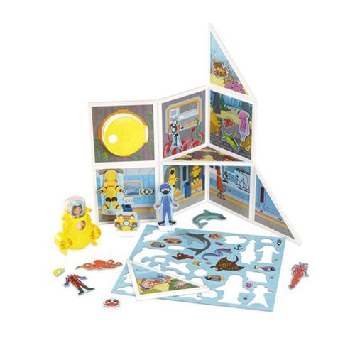 Magnetivity Underwater Adventure Magnetic Building Play Set