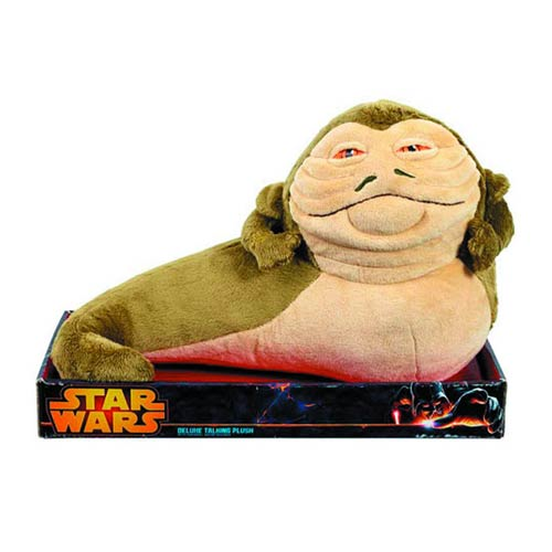 Star Wars Jabba the Hutt Previews Exclusive 12-Inch Talking Plush