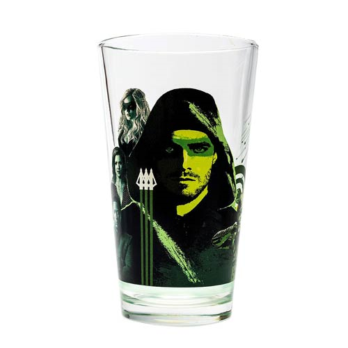 Arrow Cast Toon Tumbler Pint Glass