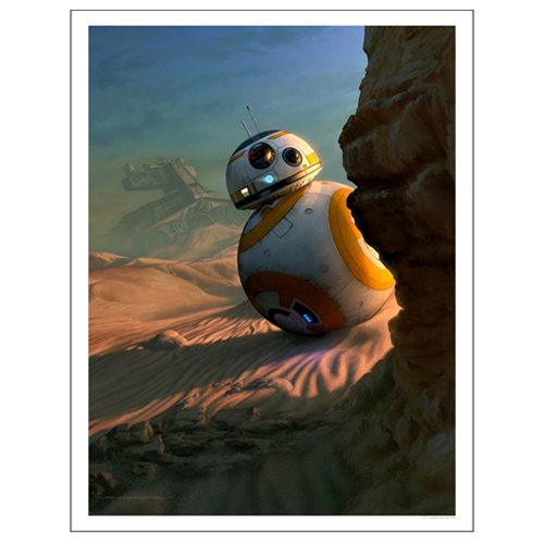 Star Wars: The Force Awakens Sunset Vigil by Jerry Vanderstelt Paper Giclee Art Print