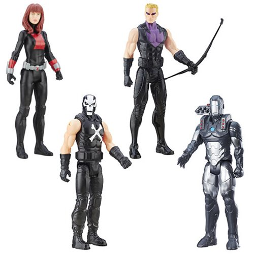 Avengers Titan Hero B 12-Inch Action Figures Wave 4 Set