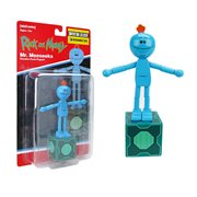 Rick and Morty Mr. Meeseeks Wooden Push Puppet - Convention Exclusive