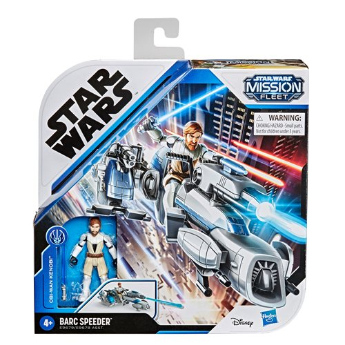 Star Wars Mission Fleet Expedition Class Obi-Wan Kenobi Jedi Speeder Chase Vehicle