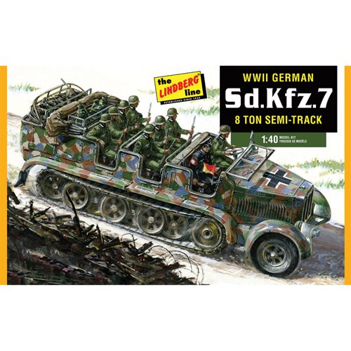 German Half-track Personnel Carrier Model Kit