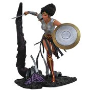 DC Comic Gallery Dark Knights Metal Wonder Woman Statue