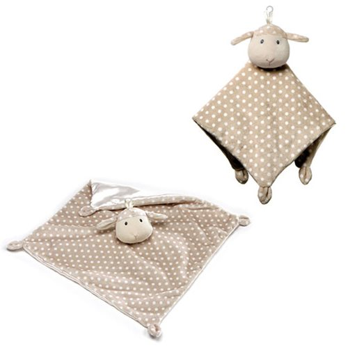 Roly Polys Lamb Lovey Plush Blanket