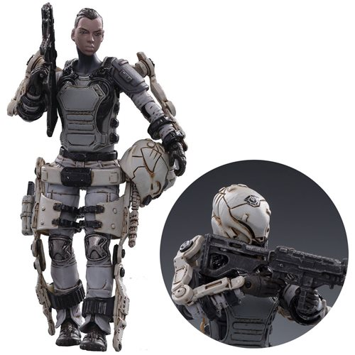 Joy Toy Free Truism 20ST Legion White Viper Betty 1:18 Scale Action Figure
