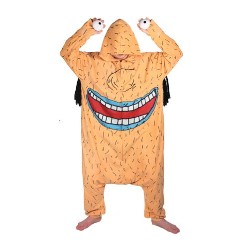 Aaahh Real Monsters Krum Hooded Kigurumi Costume