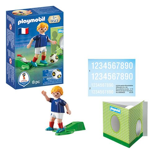 Playmobil 9513 Soccer National Team Player France Action Figure