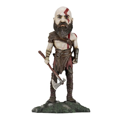 God of War 2018 Kratos Head Knocker Bobble Head