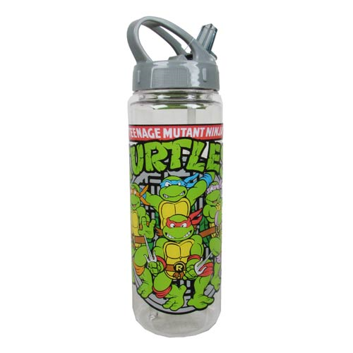 Teenage Mutant Ninja Turtles Group Sewer Shot 20 oz. Tritan Water Bottle