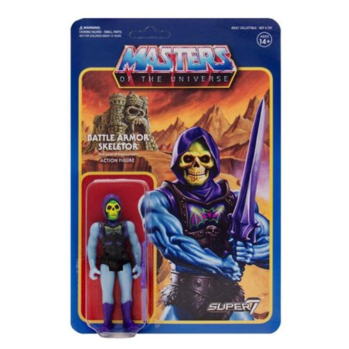 Masters of the Universe Battle-Damaged Armor Skeletor ReAction Figure
