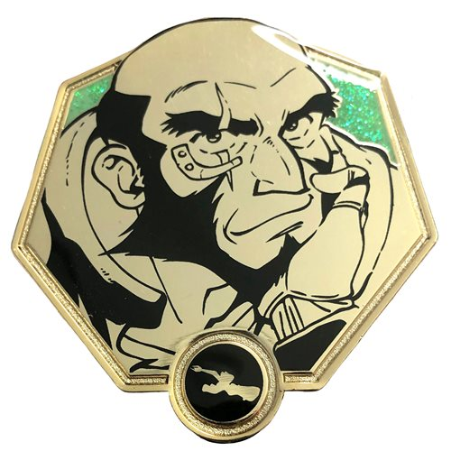 Cowboy Bebop Golden Jet Black Enamel Pin