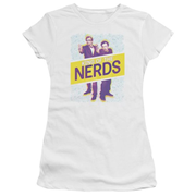King of the Nerds Laser Guns Juniors T-Shirt