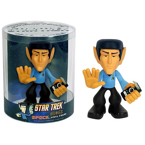 Star Trek Vinyl Figures: Quogs Spock