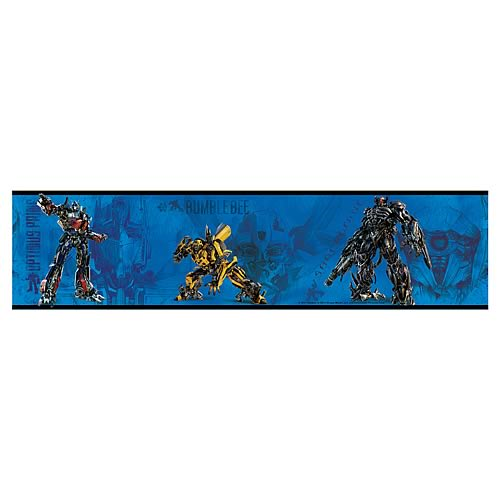Transformers 3 Peel & Stick Border