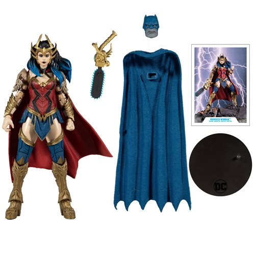 DC Build-A Wave 4 Dark Nights Death Metal Wonder Woman Action Figure