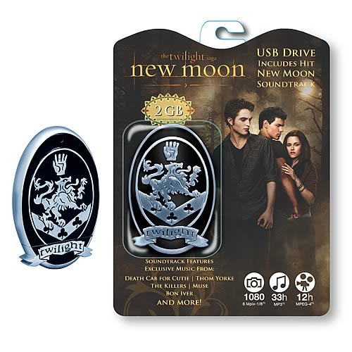Twilight New Moon Soundtrack 2 GB USB Flash Drive