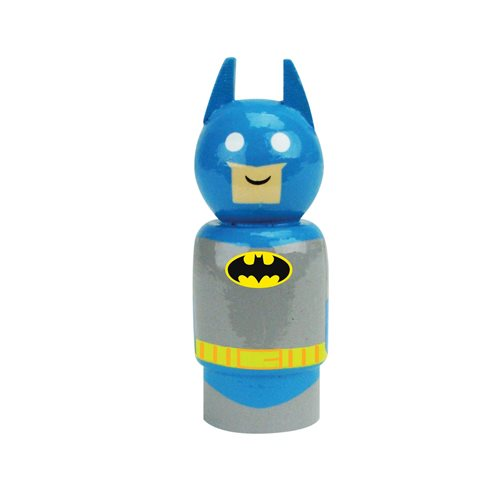 Justice League Batman Pin Mate Wooden Figure