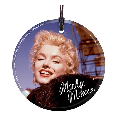Marilyn Monroe Bus Stop Movie Set Hanging Glass Print